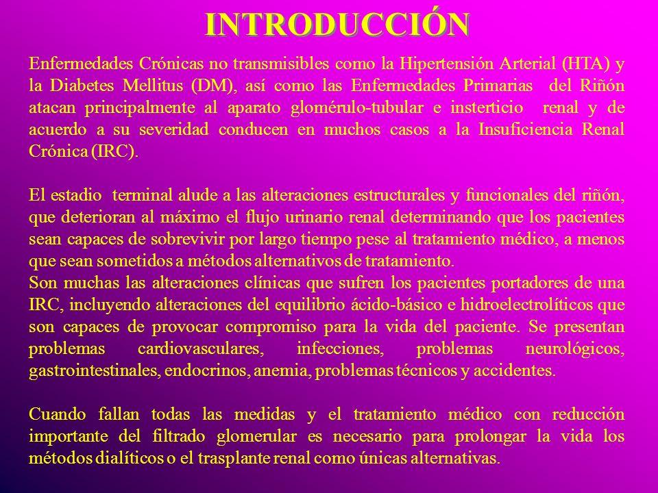 INTRODUCCIÓN Enfermedades Crónicas no transmisibles como la Hipertensión Arterial (HTA) y la Diabetes Mellitus (DM), así como las Enfermedades Primari