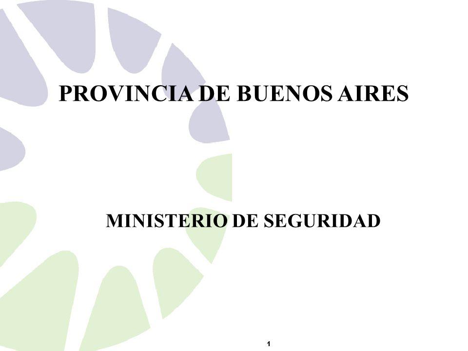 MINISTERIO DE SEGURIDAD 1 PROVINCIA DE BUENOS AIRES