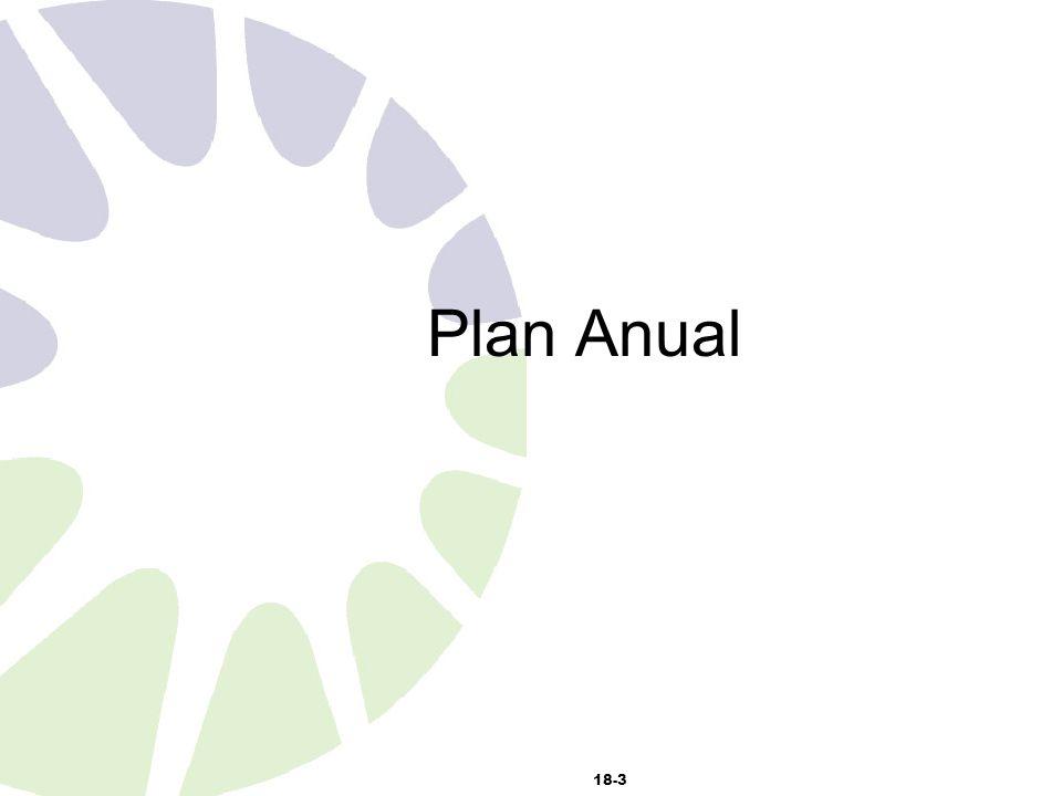 18-3 Plan Anual