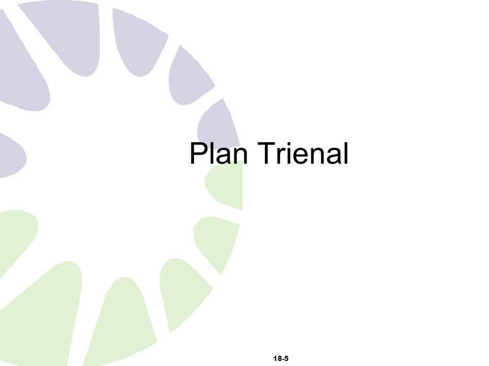18-5 Plan Trienal