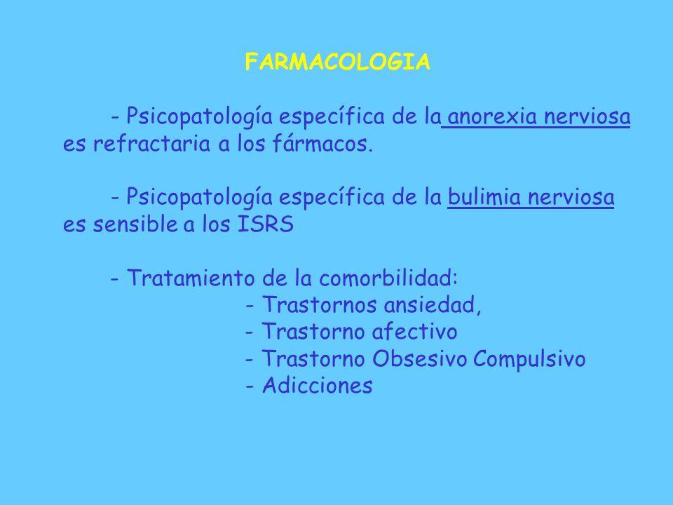 INTERVENCIONES TERAPEUTICAS TRABAJO CON FAMILIA: GRUPO DE PADRES / ENTREVISTAS : * Comprensión de la enfermedad y tratamiento. * Reducción de ansiedad