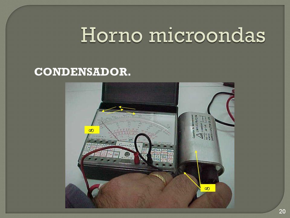 CONDENSADOR. 20