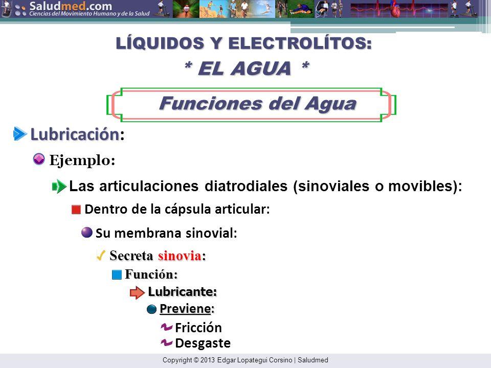 Copyright © 2013 Edgar Lopategui Corsino   Saludmed BIOENERGÉTICA: CONCEPTOS BÁSICOS * Energía* Definición Definición La Capacidad para Desempeñar Trabajo