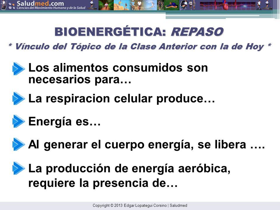 Copyright © 2013 Edgar Lopategui Corsino | Saludmed CALORIMETRÍA: AVALÚO * Reacción Escrita Inmediata (REI)* 1. Algo nuevo que aprendí hoy es… 2. Ya s