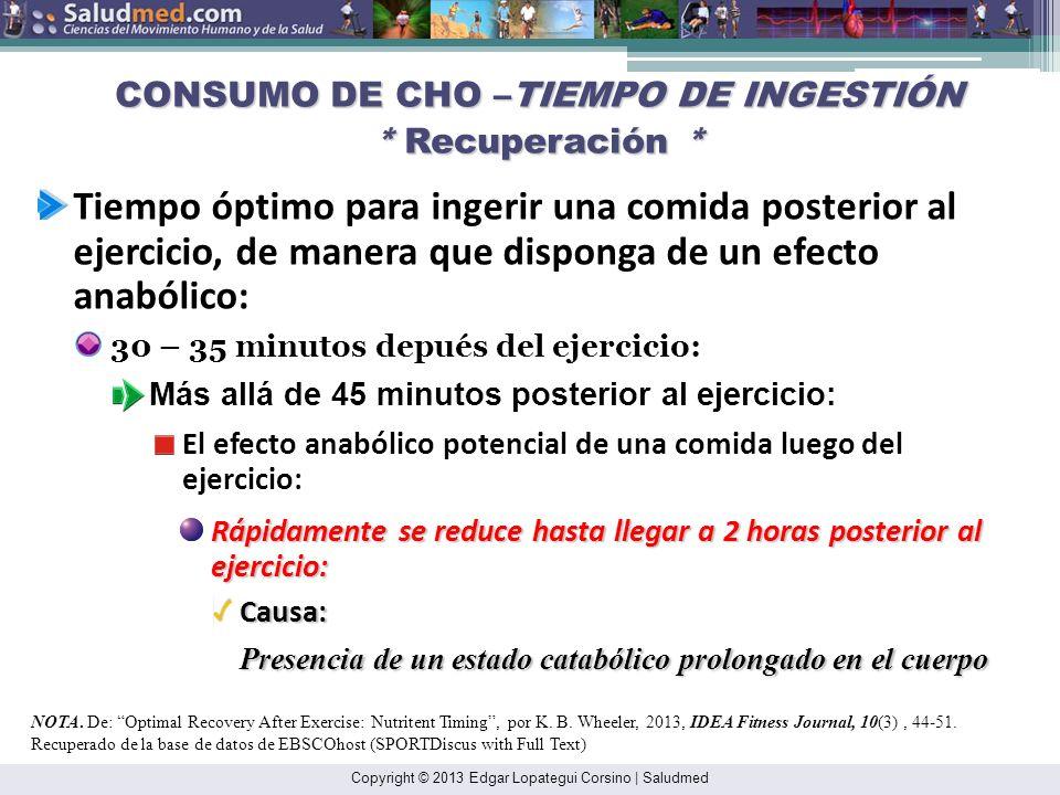 Copyright © 2013 Edgar Lopategui Corsino   Saludmed CALORIMETRÍA: AVALÚO * Reacción Escrita Inmediata (REI)* 1.