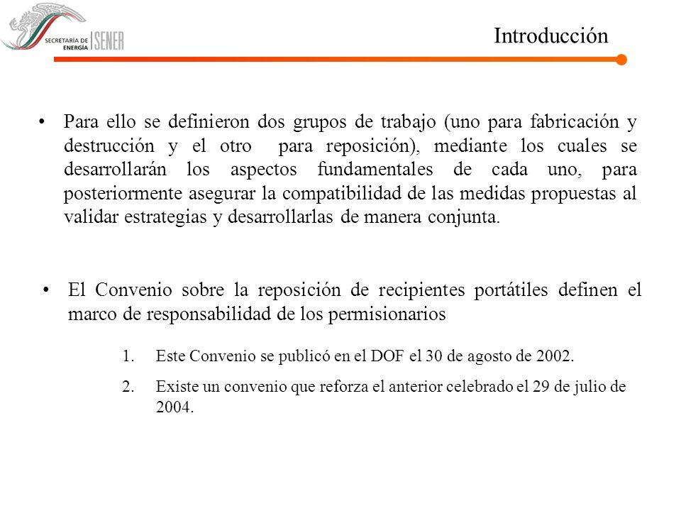 Situación Actual La SENER recibe periódicamente denuncias sobre prácticas indebidas por parte de permisionarios que utilizan y destruyen recipientes de sus competidores.