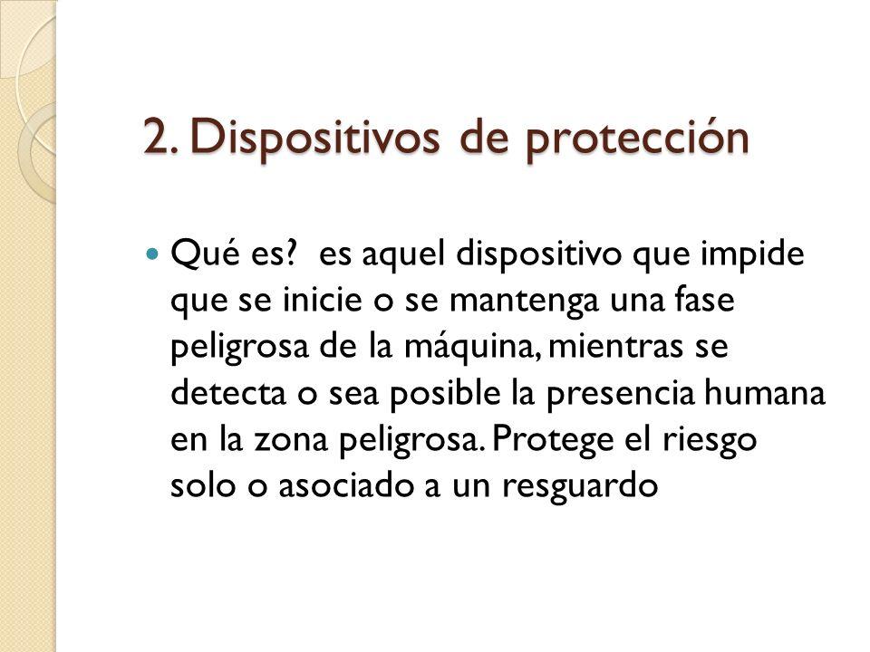 2.Dispositivos de protección Qué es.