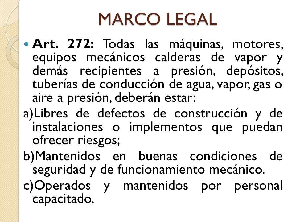 MARCO LEGAL Art.