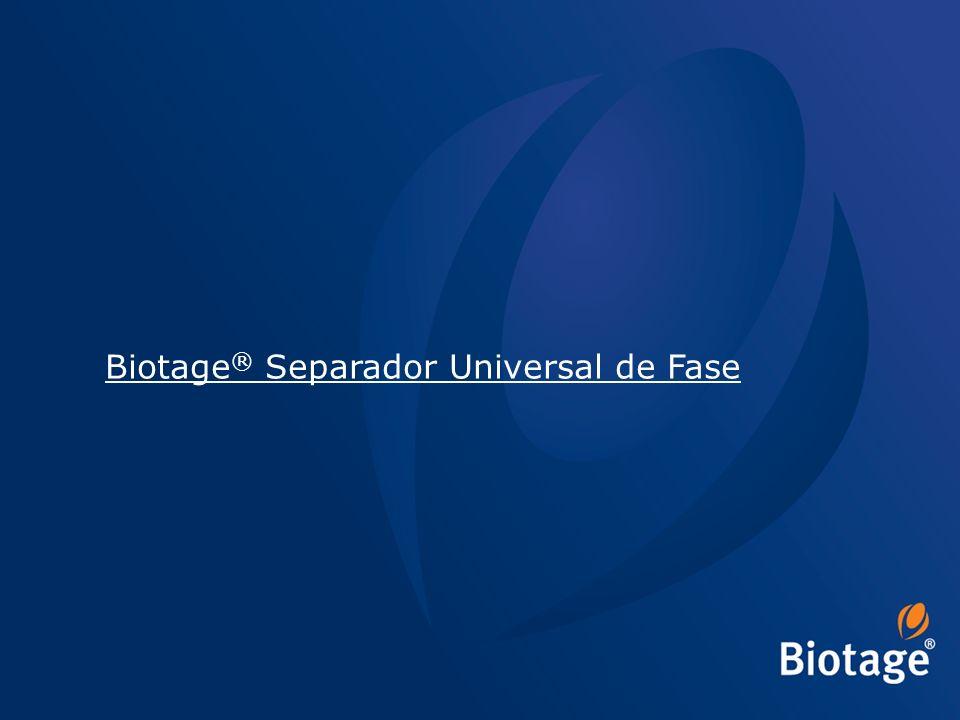 © 2012 Biotage 1 Biotage ® Separador Universal de Fase