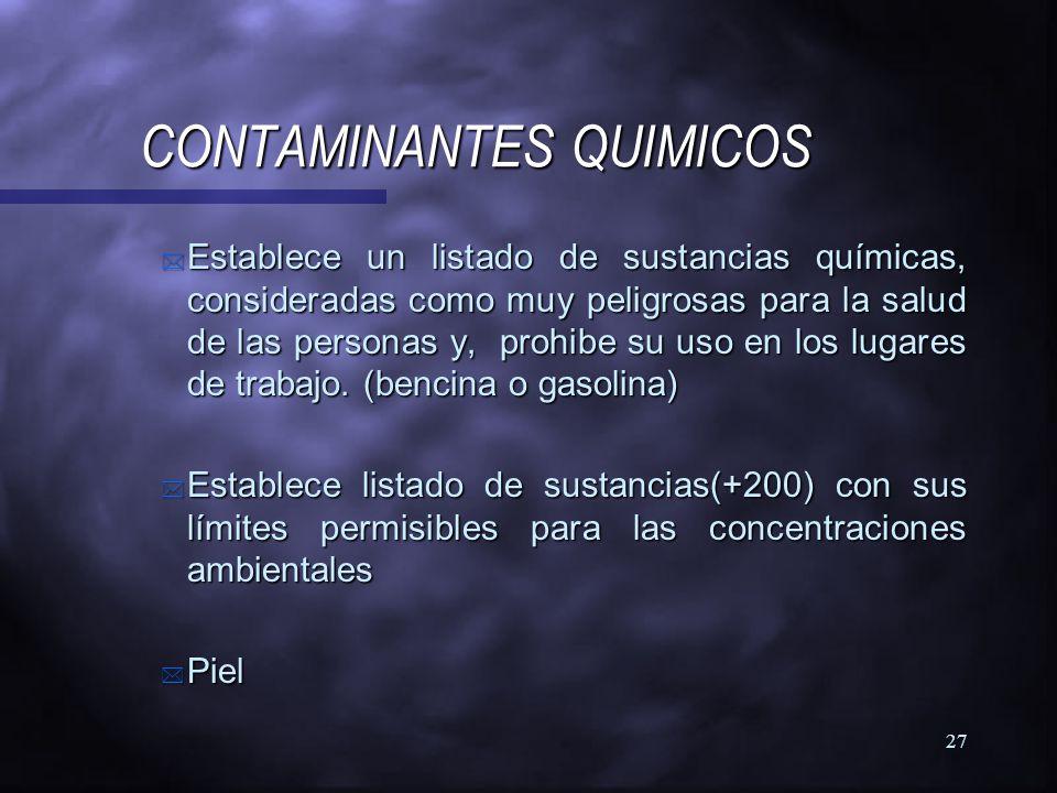 26 CONDICIONES GENERALES DE SEGURIDAD CONDICIONES GENERALES DE SEGURIDAD n Vias de evacuacion en número suficiente, identificadas, con zonas de seguri