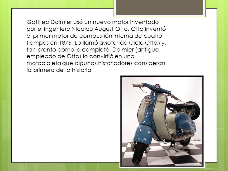 En 1894 Hildebrando y Wolf Müller presentan en Múnich la primera motocicleta fabricada en serie y con claros fines comerciales.