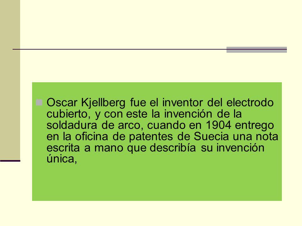 Clasificación de los electrodos Los electrodos están clasificados en base a: Las propiedades mecánicas del tipo de metal que conformará la soldadura, denominado como núcleo de alambre.