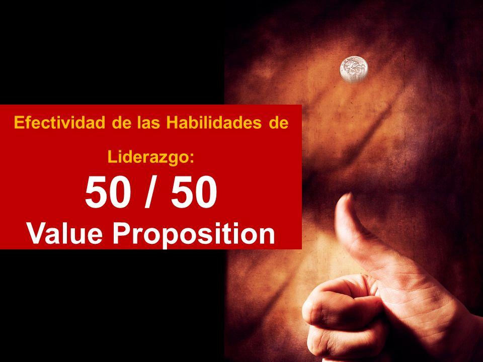 Efectividad de las Habilidades de Liderazgo: 50 / 50 Value Proposition