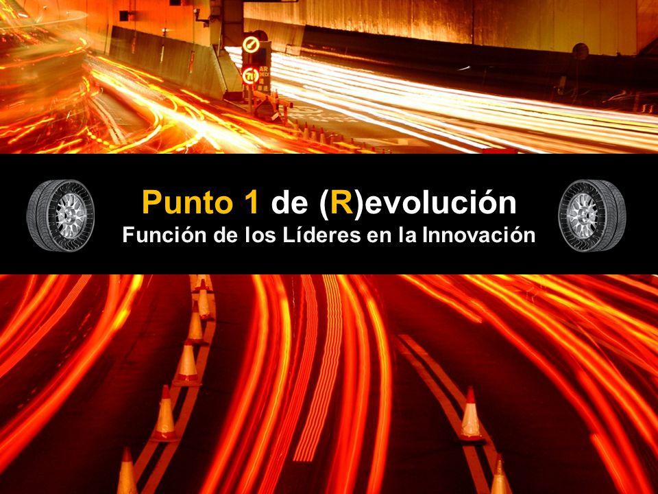 Punto 1 de (R)evolución Función de los Líderes en la Innovación