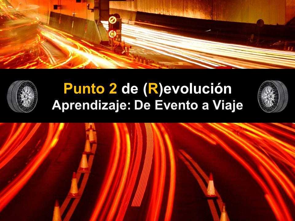 Punto 2 de (R)evolución Aprendizaje: De Evento a Viaje