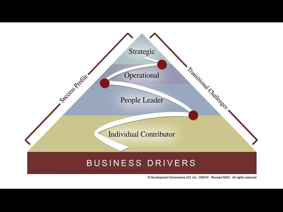64 % de los líderes transitaron al liderazgo en los últimos 5 años 26 % de las organizaciones tienen programas efectivos para asegurar tránsitos al liderazgo PERO SOLO 14 %