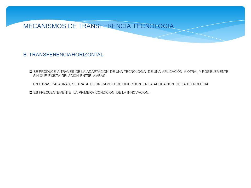 LA TOMA DE DECISIONES EN UN MECANISMO ORGANIZADO DE TRANSFERENCIA DE TECNOLOGIA UN MECANISMO ORGANIZADO DE TRANSFERENCIA DE TECNOLOGIA REQUERIRIA A LA VEZ UN SISTEMA DE INFORMACION CIENTIFICA Y TEC- NOLOGICA Y UN PROCESO DE TOMA DE DECISIONES.