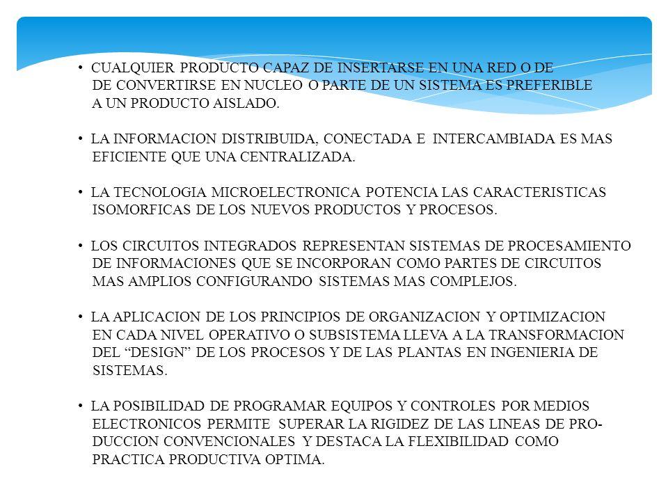 CAMBIAN LOS PATRONES DE LOCALIZACION Y SE DA PREFERENCIA A LAS AREAS DE GRAN DENSIDAD DE INFORMACION O SEA A LA PROXIMIDAD DE CENTROS E INSTITUCIONES GENERADORAS DE CONOCIMIENTOS CIENTIFICO-TECNOLOGICOS CAPACES DE DINAMIZAR DESARROLLO DE RESPUESTAS ADECUADAS A CAMBIANTES DEMANDAS DEL MERCADO.