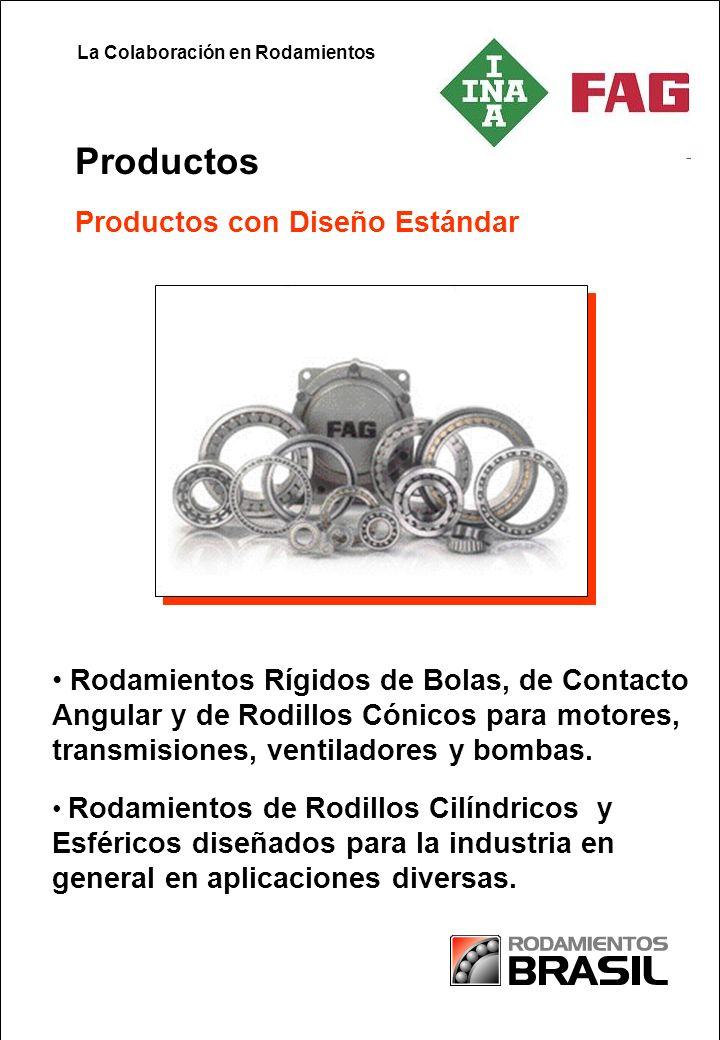 Partnership in Paper Productos con Diseño Estándar Productos Rodamientos de Rodillos Cilíndricos y Esféricos diseñados para la industria en general en aplicaciones diversas.