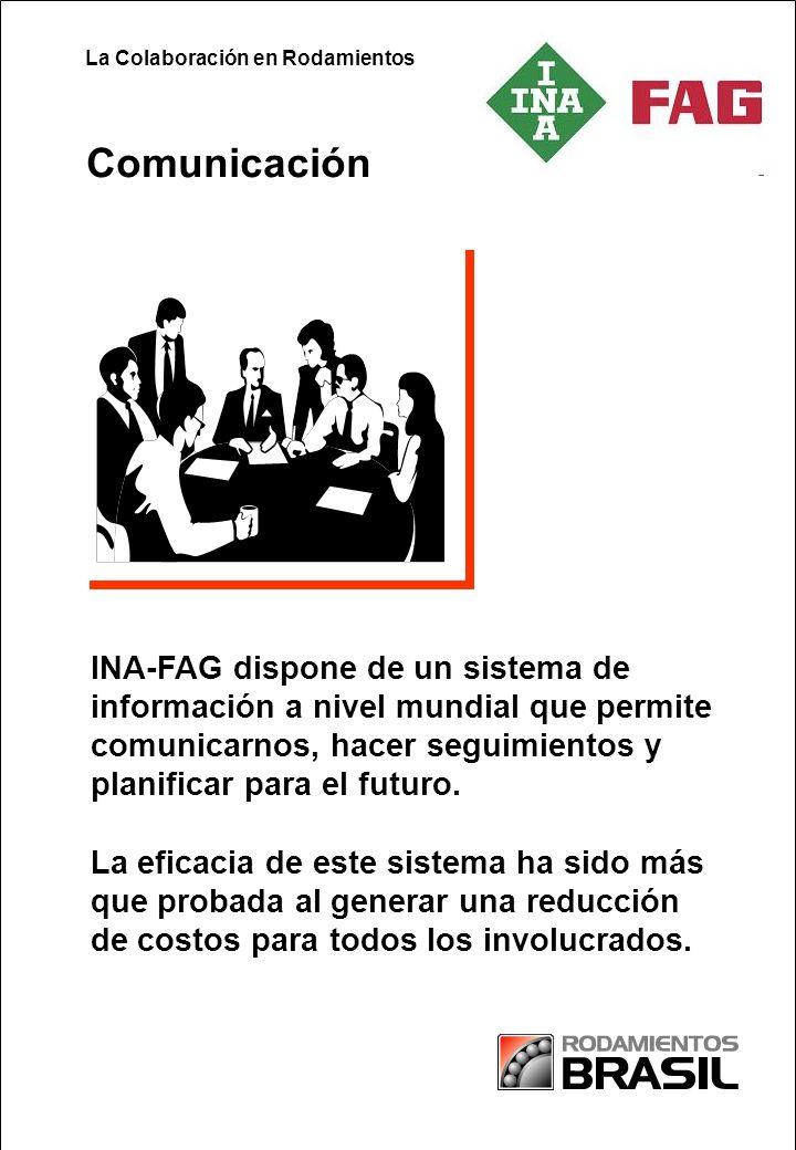 Partnership in Paper INA-FAG dispone de un sistema de información a nivel mundial que permite comunicarnos, hacer seguimientos y planificar para el futuro.