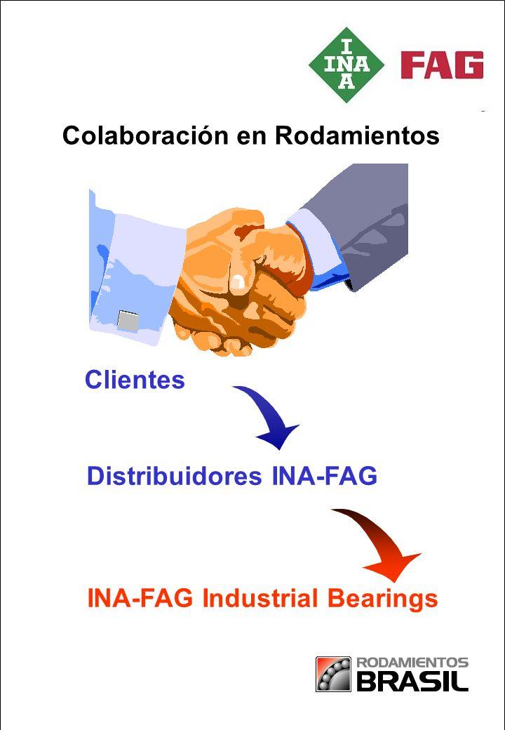 Partnership in Paper INA-FAG Industrial Bearings Distribuidores INA-FAG Colaboración en Rodamientos Clientes