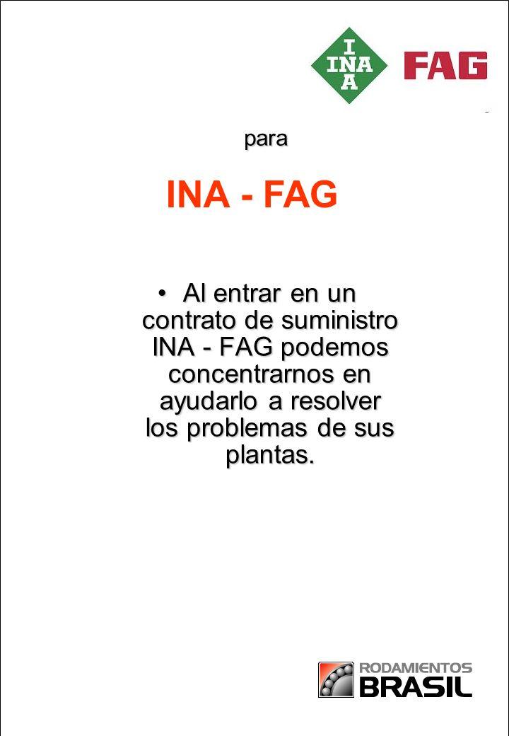 Partnership in Paper Al entrar en un contrato de suministro INA - FAG podemos concentrarnos en ayudarlo a resolver los problemas de sus plantas.Al entrar en un contrato de suministro INA - FAG podemos concentrarnos en ayudarlo a resolver los problemas de sus plantas.