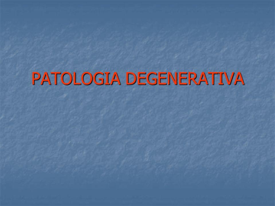 PATOLOGIA DEGENERATIVA