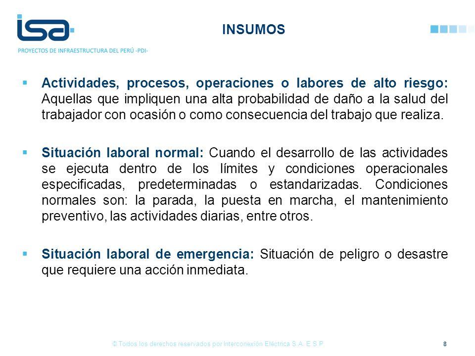 39 © Todos los derechos reservados por Interconexión Eléctrica S.A.