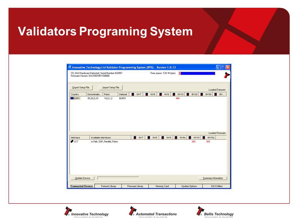 Validators Programing System