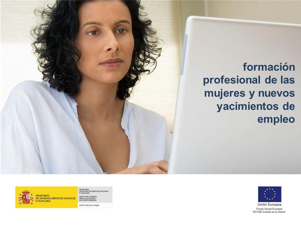 formación profesional de las mujeres y nuevos yacimientos de empleo