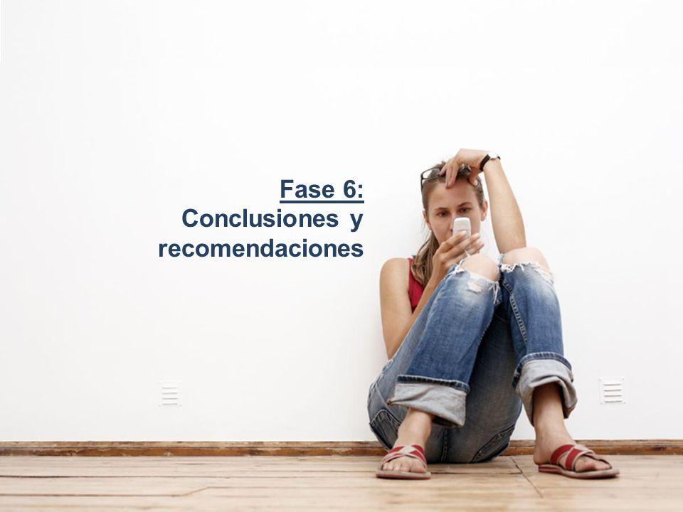 Fase 6: Conclusiones y recomendaciones