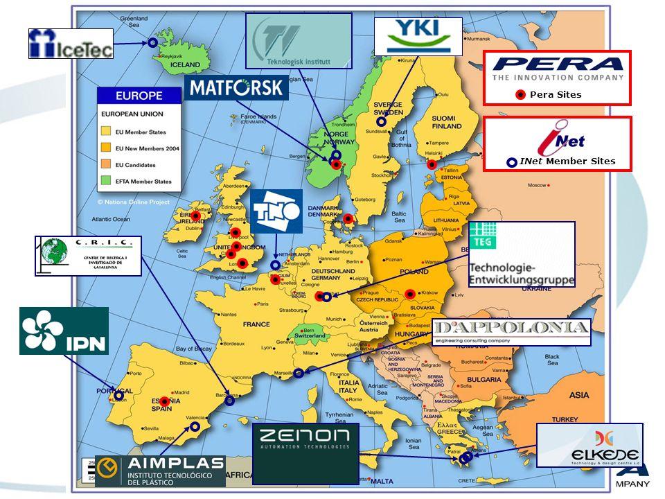 Pera – datos Fundada en 1946: 550 empleados, 60mll facturación Oficinas en UK, Dinamarca, Estonia, Irlanda, Noruega, Polonia, España, Italia, Francia y Asia Fundación sin ánimo de lucro Independiente 3 divisiones: Tecnología Innovación Formación