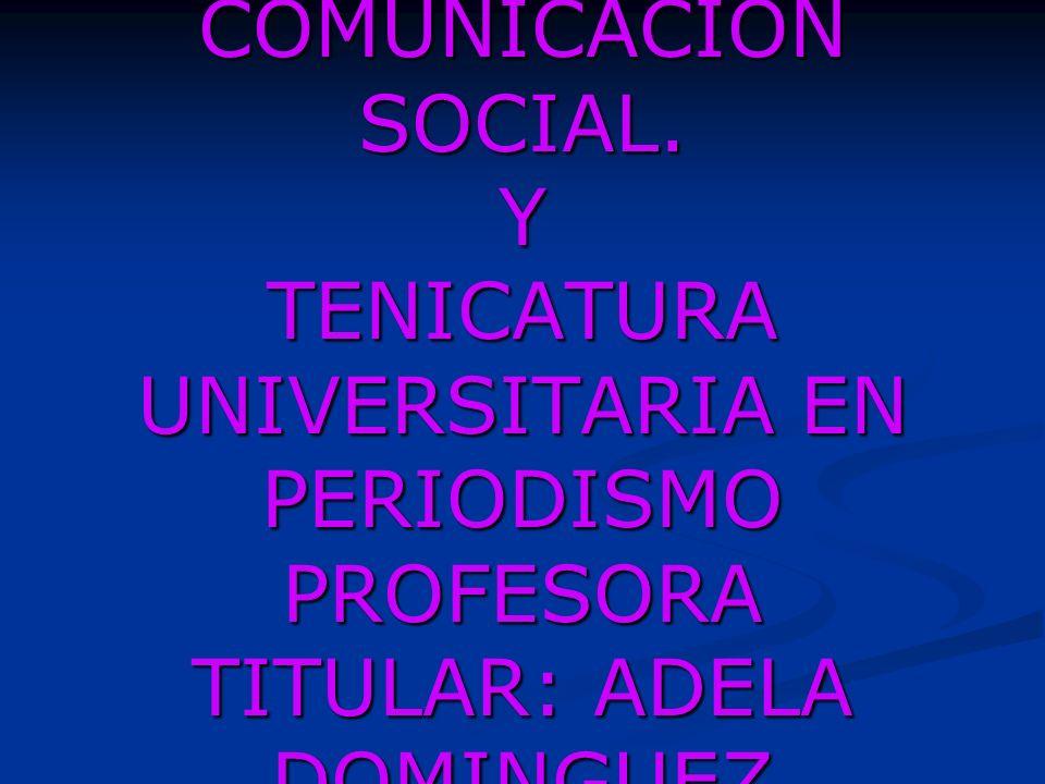CLASE 5 RADIO I LICENCIATURA EN COMUNICACIÓN SOCIAL.