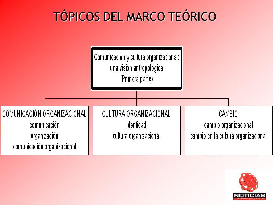 TÓPICOS DEL MARCO TEÓRICO