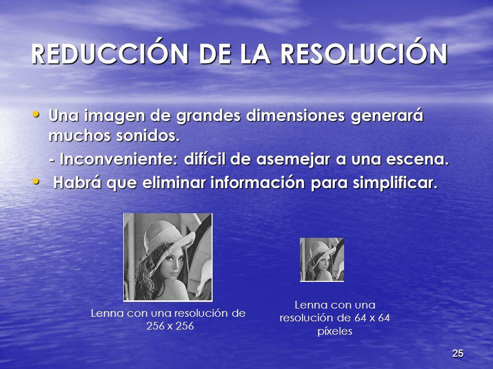 24 PROCESAMIENTO DE IMÁGENES Representación de imágenes Representación de imágenes Conversión a grises Conversión a grises Negativo de una imagen Nega