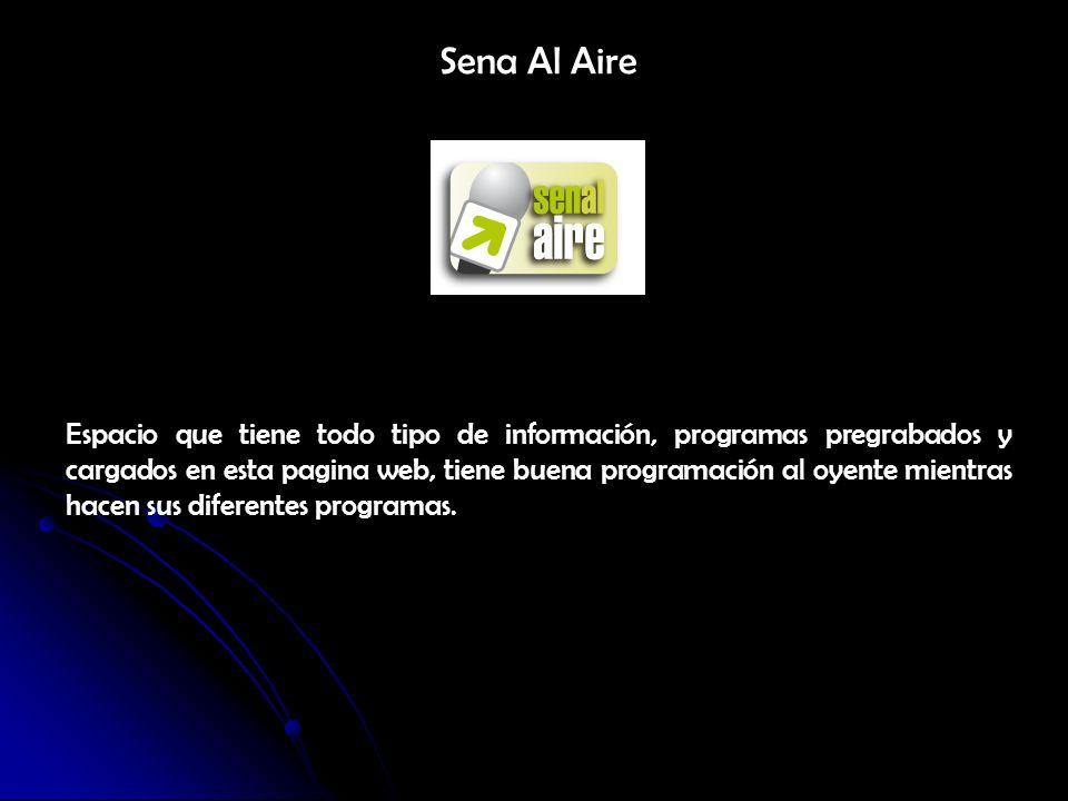 Oficina de Comunicaciones Es el Centro de todo el medio de comunicación que tiene el SENA actualmente desde la pagina, es la dirección general de todo el SENA que lidera la información y mantiene informada a la comunidad SENA y a los colombianos para poder estar al tanto de la información de primera mano
