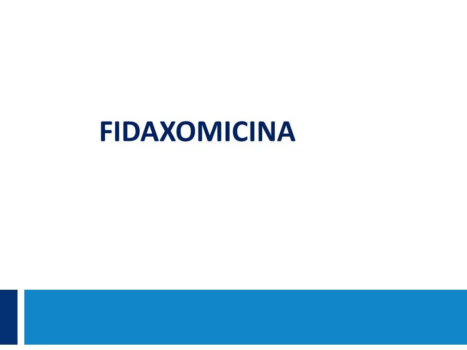 FIDAXOMICINA