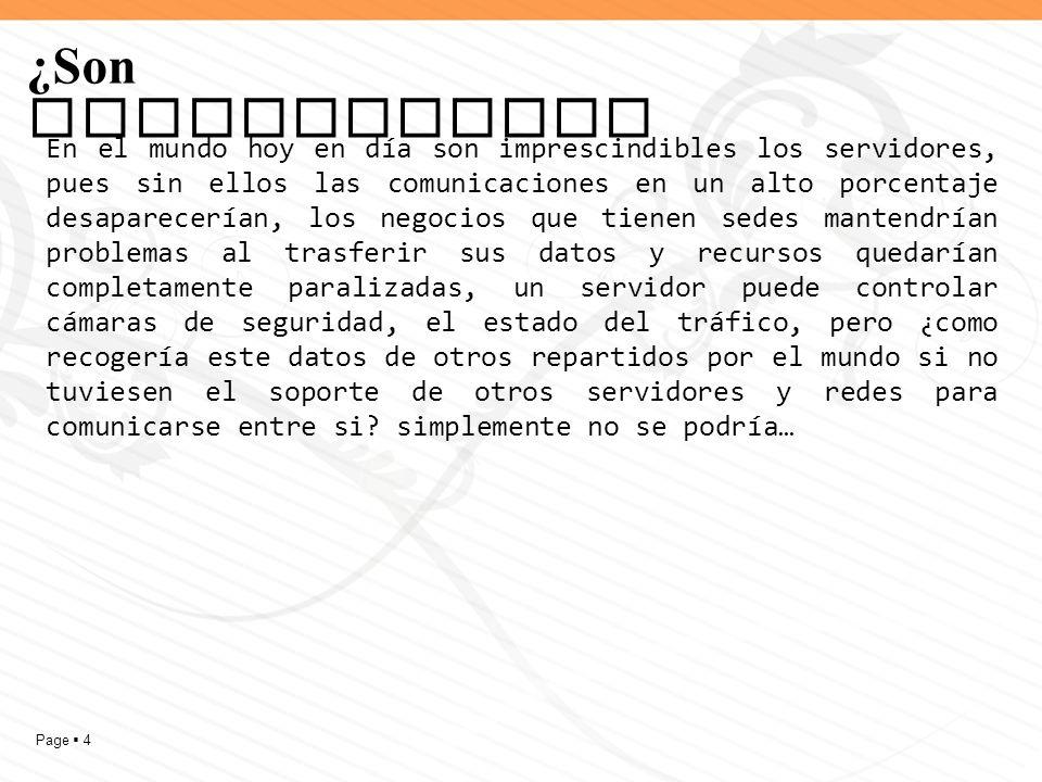 Page 5 Tipos de servidor Servidor de Aplicaciones (Application Servers): Usualmente se trata de un dispositivo de software que proporciona servicios de aplicación a las computadoras cliente.