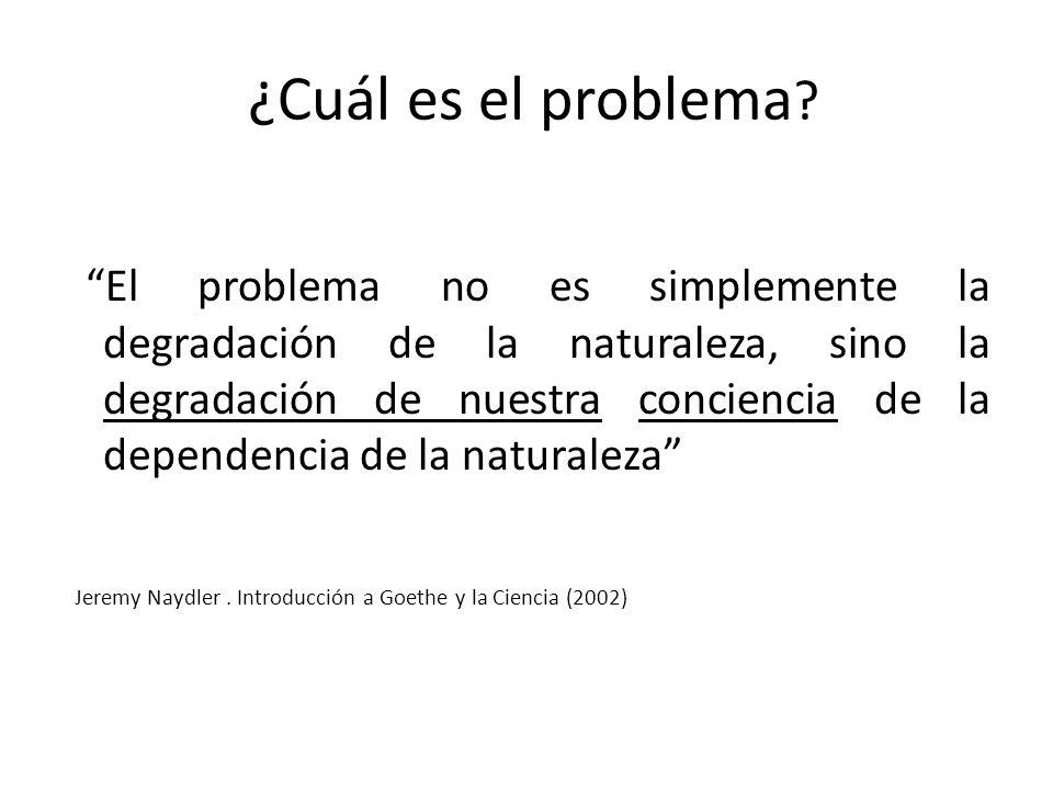 ¿Cuál es el problema .