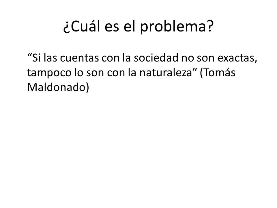 ¿Cuál es el problema.
