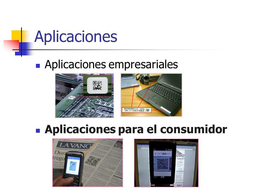 Aplicaciones Aplicaciones empresariales Aplicaciones para el consumidor