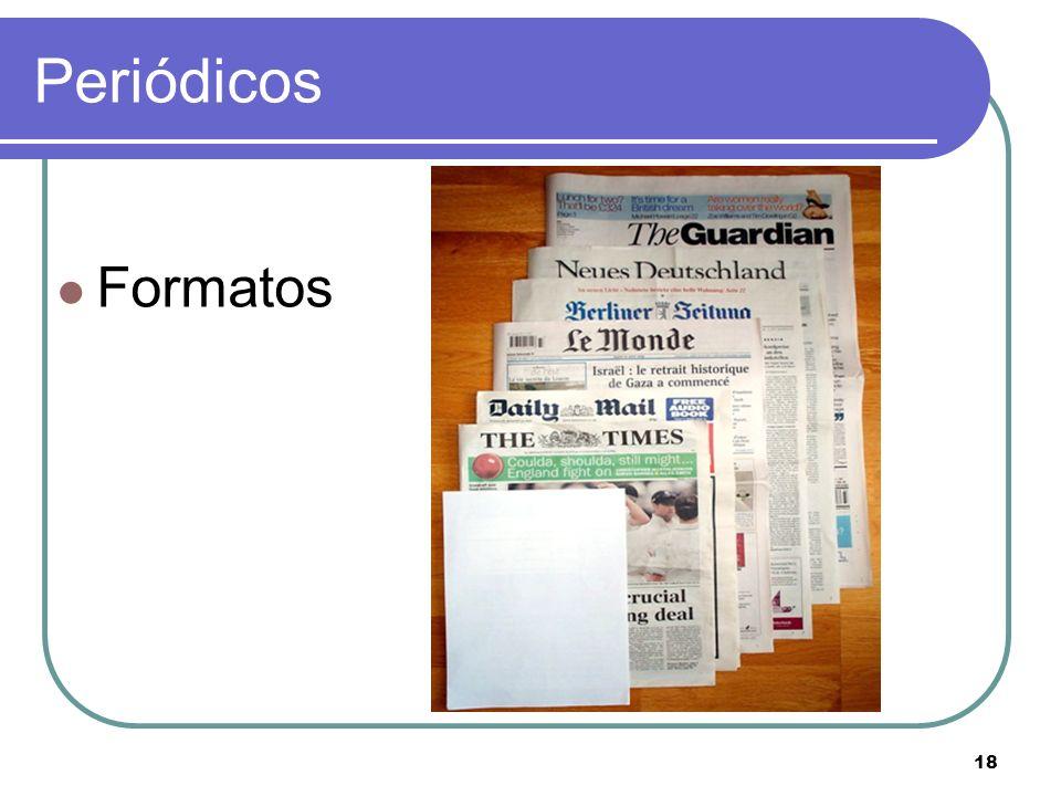 18 Periódicos Formatos