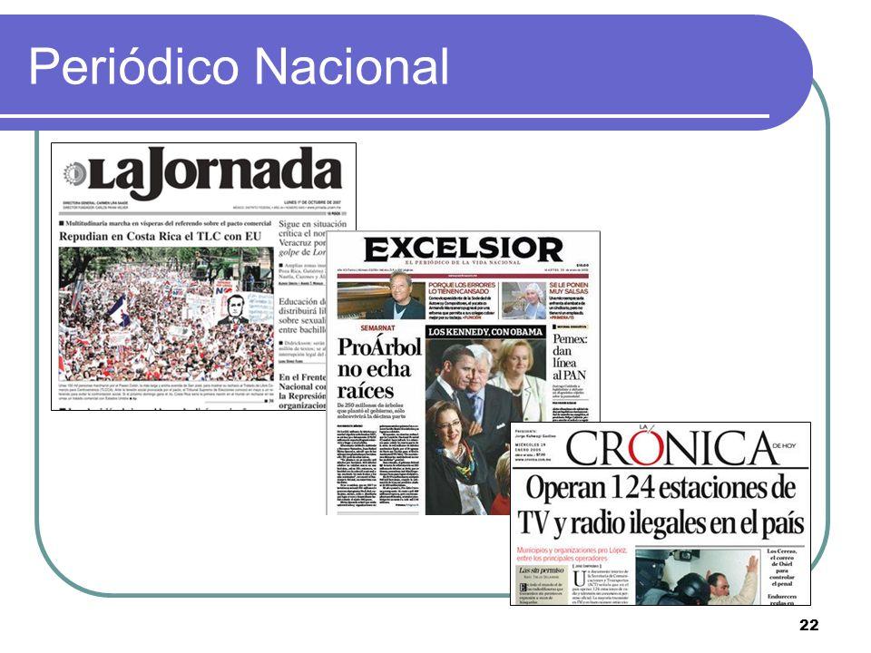22 Periódico Nacional