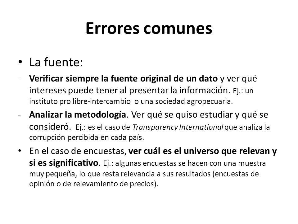 Errores comunes Legales: -Tener cuidado al sacar conclusiones del texto de una ley.