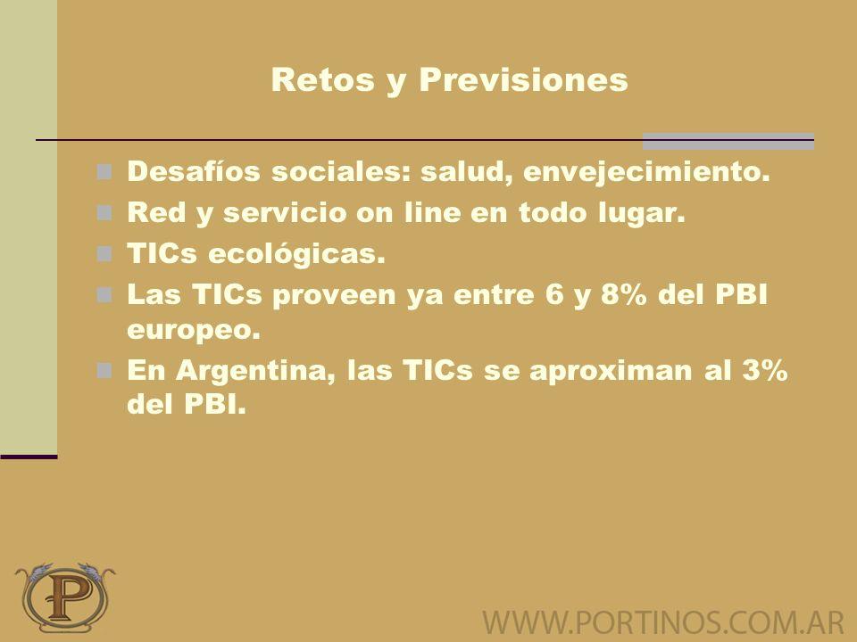 Retos y Previsiones Desafíos sociales: salud, envejecimiento.