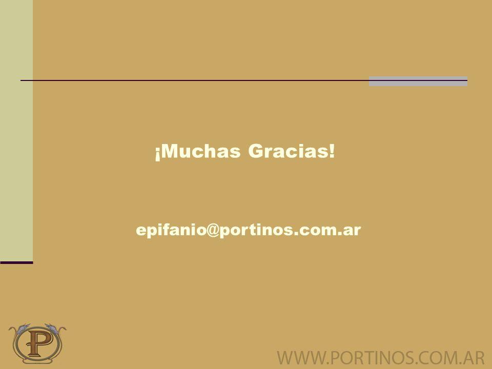 ¡Muchas Gracias! epifanio@portinos.com.ar
