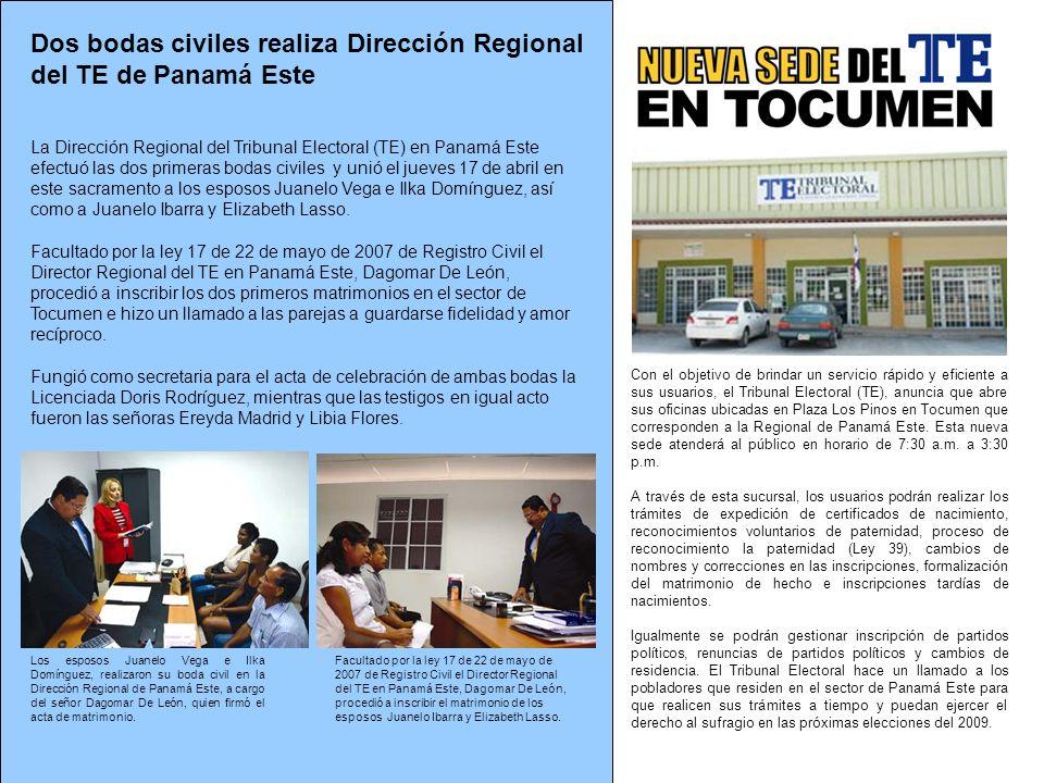 Con el objetivo de brindar un servicio rápido y eficiente a sus usuarios, el Tribunal Electoral (TE), anuncia que abre sus oficinas ubicadas en Plaza