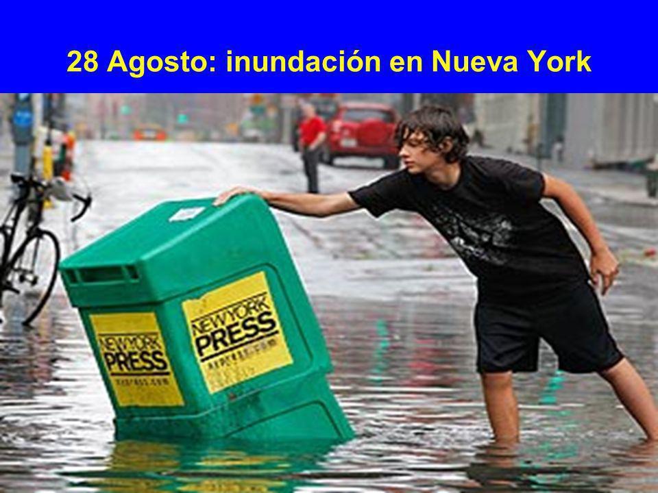 28 Agosto: inundación en Nueva York
