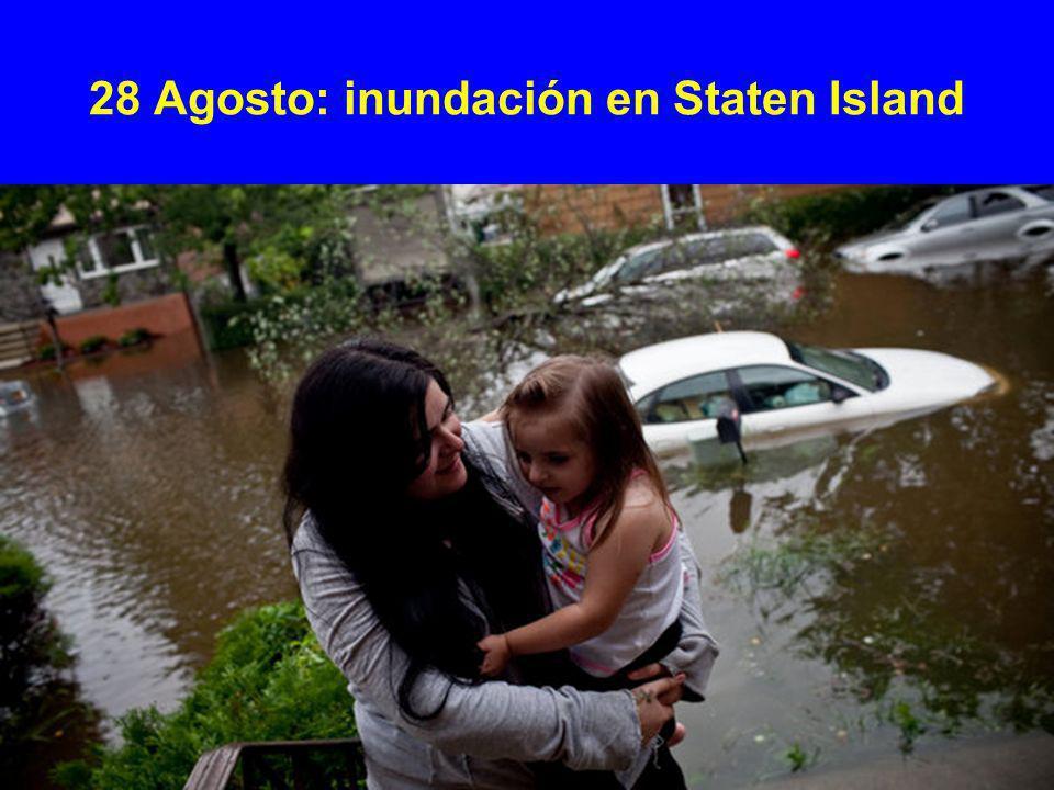 28 Agosto: inundación en Staten Island
