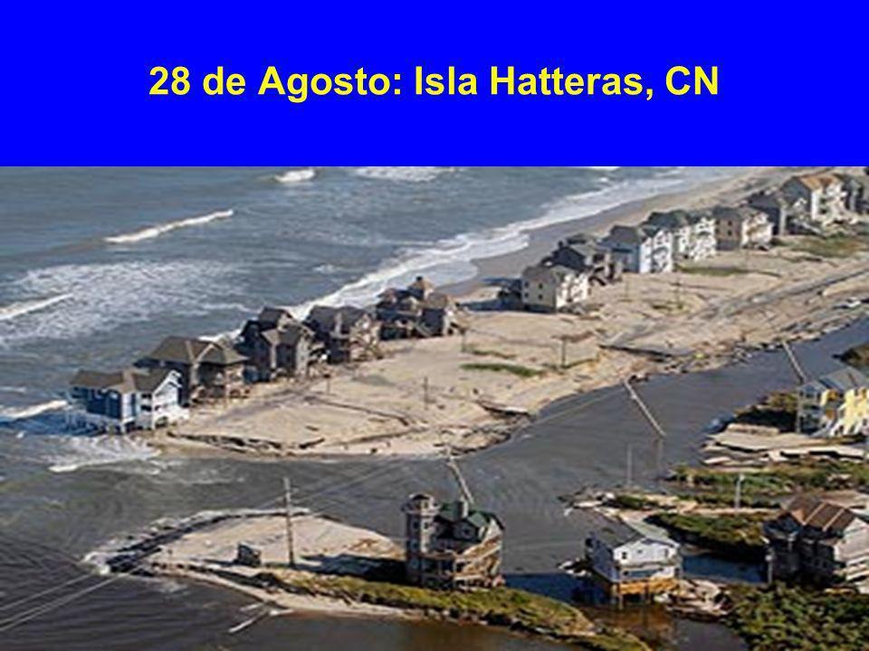 28 de Agosto: Isla Hatteras, CN